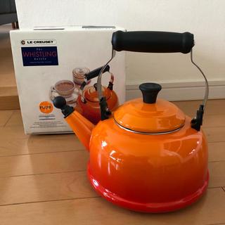 LE CREUSET - ルクルーゼ 希少モデル 入手困難 ケトル 1.6L オレンジ 新品未使用
