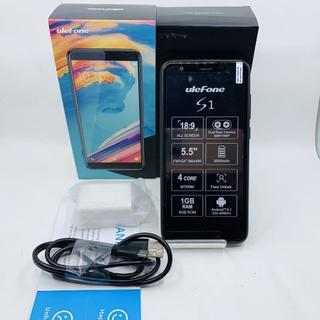 SIMフリー Ulefone S1 5.5インチ ブラック 740(スマートフォン本体)