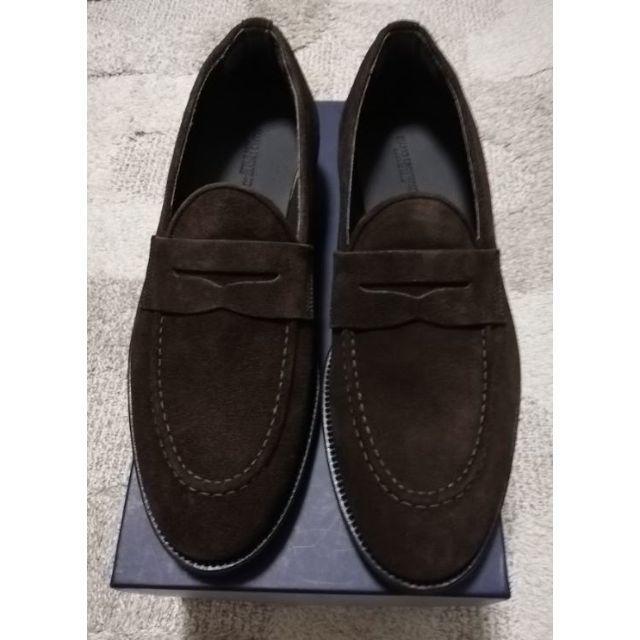 nano・universe(ナノユニバース)の【新品・未使用】ナノユニバース イタリア製コインローファー 27cm メンズの靴/シューズ(ドレス/ビジネス)の商品写真