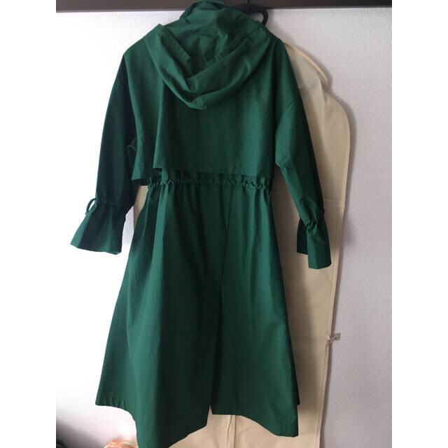 ENFOLD(エンフォルド)の【たなみさま専用】nagonstans ナゴンスタンス モッズコート グリーン レディースのジャケット/アウター(モッズコート)の商品写真