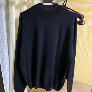 YOKEの『12G WOOL SABLE MOCK NECK L/S 』