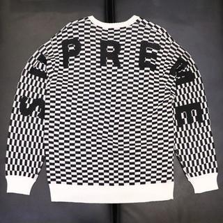 Supreme - 国内正規品 Supreme Back Logo Sweater チェック M