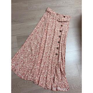 ZARA - zara ザラ ロングスカート  小花柄 花柄 フラワー  プリントスカート