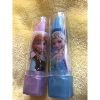 アナと雪の女王 - アナ雪リップ型消しゴム 二本