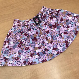 BURBERRY - 美品 バーバリー Burberry 花柄スカート 100