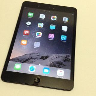 Apple - 3値引き可能 iPad mini 黒 ブラック iPhoneを作ったApple