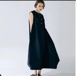 ENFOLD - yonfa balloon dress black Msize
