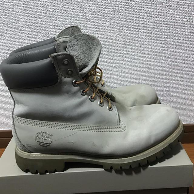 Timberland(ティンバーランド)のTimberland  灰色 27cm - 10M メンズの靴/シューズ(ブーツ)の商品写真