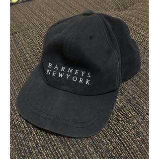 BARNEYS NEW YORK - バーニーズニューヨーク キャップ 黒