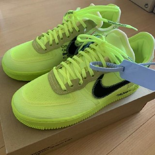 NIKE - 【26.0】NIKE OFF WHITE AIR FORCE 1 VOLT