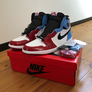 NIKE - jordan1  fearless unc to chicago 28.5cm