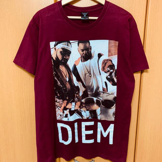 APPLEBUM - DIEM Tシャツ ボルドー