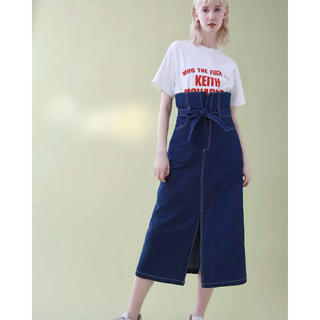 Ameri VINTAGE - スタイルミキサー ◆ ハイウエストロングデニムスカート ◆