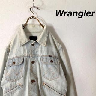 ラングラー(Wrangler)の古着 90's Wrangler ラングラー ライトカラー デニムジャケット(Gジャン/デニムジャケット)