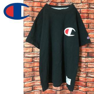 Champion - チャンピオン 胸ロゴ刺繍 Tシャツ Lサイズ