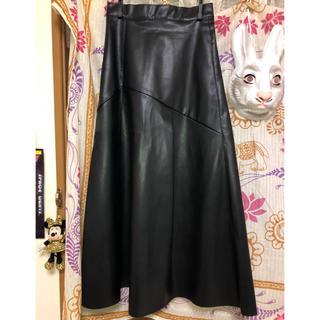 JEANASIS - レザーロングスカート