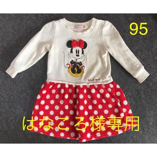 Disney - ディズニー ミニーマウス ワンピース 95cm