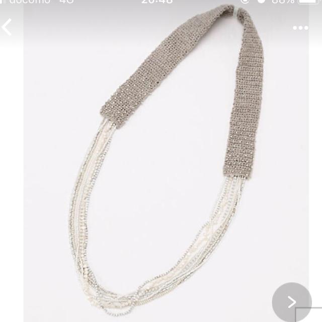 nest Robe(ネストローブ)のヴラスヴラム ネックレス 新品 レディースのアクセサリー(ネックレス)の商品写真