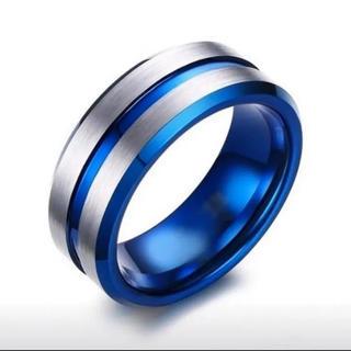 ブルー×シルバー リング(リング(指輪))