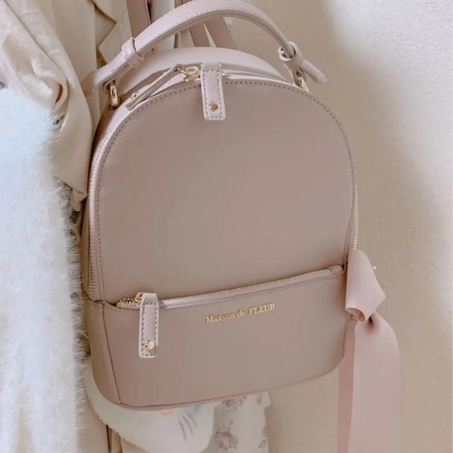Maison de FLEUR(メゾンドフルール)のメゾンドフルール リュック レディースのバッグ(リュック/バックパック)の商品写真