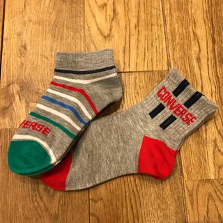 CONVERSE - 【converse】ジュニア靴下 19〜21cm 2セット