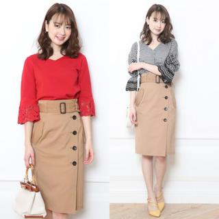 JUSGLITTY - 【美品】ジャスグリッティー◆トレンチタイトスカート  size1