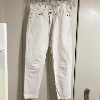 SHIPS - SHIPS ホワイトジーンズ
