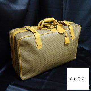 Gucci - 美品・超希少 GUCCI:オールドグッチ トランク/トラベルバッグ