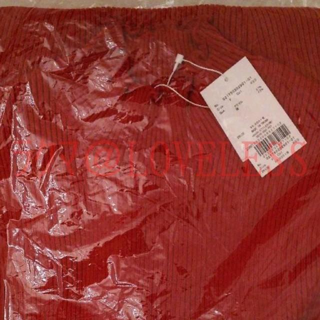 dazzlin(ダズリン)のダズリン フリル ノースリーブ ミニワンピース レッド レディースのワンピース(ミニワンピース)の商品写真