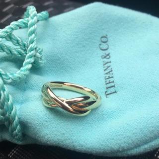 Tiffany & Co. - ティファニー  インフィニティ リング k18