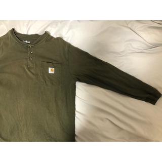 carhartt - カーハート ロングTシャツ カーキ