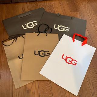 アグ(UGG)のUGG ショップ 紙袋セット(ショップ袋)