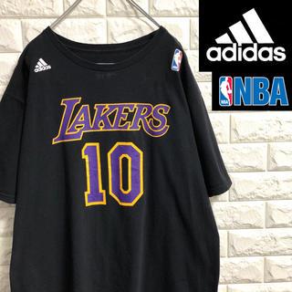 adidas - *アディダス*NBA*レイカーズ*半袖Tシャツ*パフーマンスロゴ*XLサイズ*
