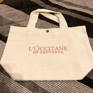 L'OCCITANE - ロクシタンロゴ刺繍トートバッグ