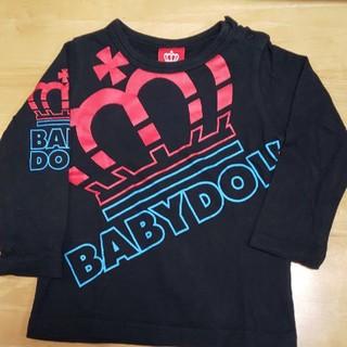 BABYDOLL - ベビードール ロングTシャツ 長袖Tシャツ カットソー 90cm