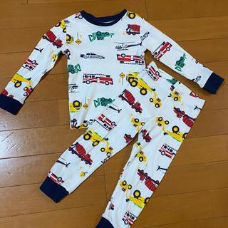 H&M - 新品 H&M 80 90 パジャマ はたらくくるま