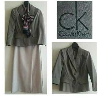 カルバンクライン(Calvin Klein)の日曜限定価格⭐️Calvin Klein⭐️ペプラム風ジャケット(テーラードジャケット)