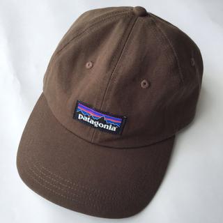 patagonia - パタゴニア P-6 Label Trad Cap ブラウン