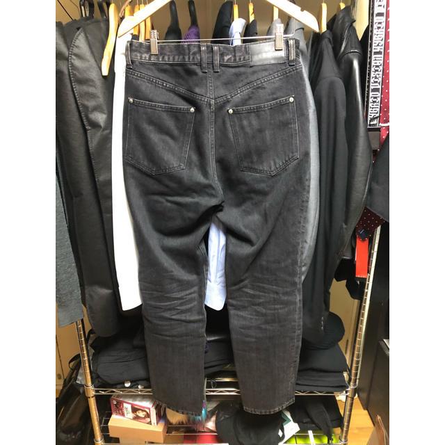 JOHN LAWRENCE SULLIVAN(ジョンローレンスサリバン)のJOHNLAWRENCESULLIVAN 20ss ジップデニムパンツ 46 メンズのパンツ(デニム/ジーンズ)の商品写真