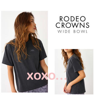RODEO CROWNS WIDE BOWL - RODEO CROWNS WIDEBOWL ワンポイントTシャツ