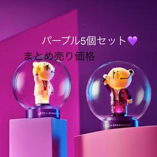 Starbucks Coffee - BTS  韓国スタバ ベアリスタ ランプ フィギュア 5個セット