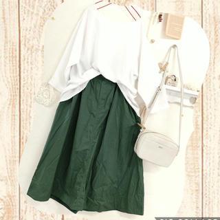 STUDIO CLIP - ☆ スタジオクリップ タックギャザー ロングスカート ☆