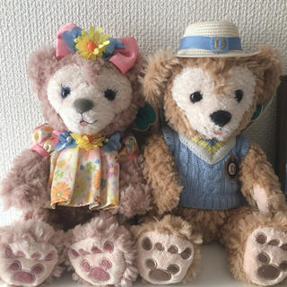 Disney - ダッフィ&シェリーメイ ペアぬいぐるみ