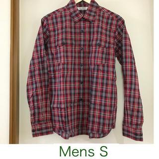 ドレステリア(DRESSTERIOR)の【ドレステリア】レッドとネイビーの長袖チェックシャツS(シャツ)