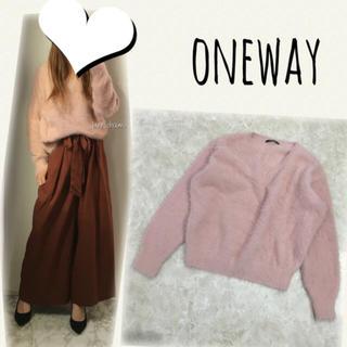 one*way - oneway♡シャギーニット