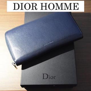DIOR HOMME - ディオールオム 長財布 ロングウォレット ラウンドファスナー