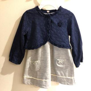 ニシマツヤ(西松屋)の入園式 フォーマルワンピース 90センチ(ドレス/フォーマル)
