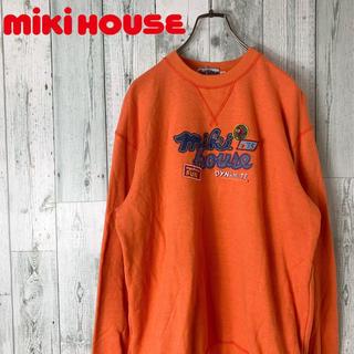 ミキハウス(mikihouse)の【超希少】ミキハウス  90s ロゴ ワッペン 刺しゅう スウェット(スウェット)