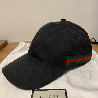 Gucci - GUCCI グッチ GG柄 ベースボールキャップ シェリーライン XL60cm