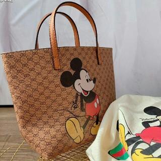 Disney - GUCCI グッチ ディズニー ミッキー トートバック